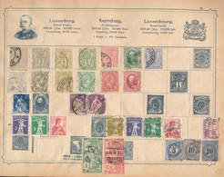 *, Gest., Cto Illustriertes Briefmarkenalbum Um 1900, Alle Welt, Sparsam Besetzt, Trotzdem Fundgrube, Bitte Unbedingt An - Non Classificati