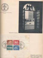 """Gest. Vordruckalbum """"Die Marken Des Dritten Reiches"""", Verlag Volk Und Reich 1933-1945 Kplt. Mit Ostropablock Allen Ganzs - Non Classificati"""