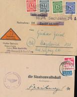 Gest., Brief Posten Von 40 Stck. Briefe/GSK/postalische Belege DR/Deutschland Bis 1948, Wilder Und Doch Interessanter Po - Non Classificati