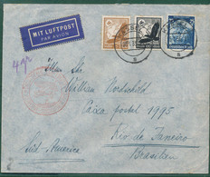 Gest., Brief Katapultpost Südatlantik Europa-Südamerika 1935 - Non Classificati