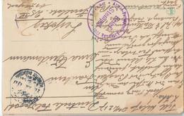 Gest. 2 AK's Feldpost Militärmission Türkei No 101 Und 1701 - Non Classificati