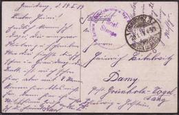 Gest. Graudenz Feldpost Freikorps 20.1.1919 - Non Classificati