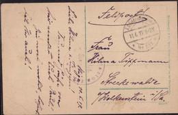 Gest. Riga Feldpost Freikorps 11.6.1919 - Non Classificati