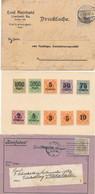 Gest., Brief Kiste Mit 2,8 Kg. Briefe, Deutsches Material Zumeist Vor 1930, Viel Feldpost, Div. Einfache Frankaturen Abe - Non Classificati
