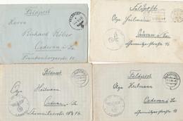 Gest. Kiste Mit 2,5 Kg Feldpostbriefe WK II, Viele Unterschiedliche FP-Nummern, Fundgrube Für Den Spezialisten! - Non Classificati