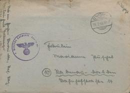 Gest. 27 Stck. Feldpostbriefe An Eine Adresse, Alle Mit Inhalt 1944/45 - Non Classificati