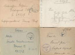 Gest., Brief 500 Stck. Feldpostbriefe WK II Viele Verschiedene, Etwas Für Den Spezialaisten, Gute Stempel Entdeckt, Bitt - Non Classificati