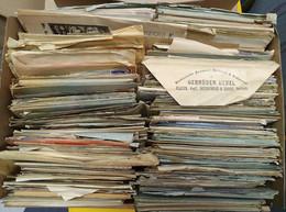 Gest., Brief Kiste Mit 4 Kg. Briefe Zumeist Mit Inhalt Vor 1945, Viel Feldpost/Hitlerfrankaturen, Muss Besichtigt Werden - Non Classificati