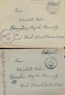 Gest., Brief Konvolut Von 60 Stck. Feldpostbriefe Mit Inhalt An Eine Adresse In Bärenstein, Alles 1944 - Non Classificati