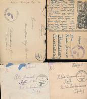 Gest., Brief Konvolut Von 28 Stck. Feldpost WK II, Schöner Posten, Bitte Ansehen - Non Classificati