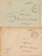 Gest., Brief Konvolut Von 20 Stck. Feldpostbriefe WK II Zumeist Mit Inhalt, Interessanter Posten! - Non Classificati