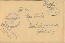Gest., Brief 19 Stck. Feldpostbriefe WK II Luftnachrichtenkompanie Dresden 1940 - Non Classificati