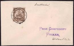 Gest. Kamerun Drucksache Stempel Banjo 1909 - Non Classificati