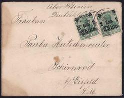 Gest. Brief Tientsin Nach Schirnrod 1913 - Non Classificati