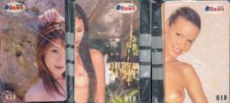 * Konvolut Von 24 Stck. Telefonkarten Mit Erotischen Motiven - Collections