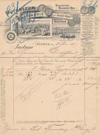 Konvolut Von 11 Stck. Hoch Dekorative Firmenrechnungen Hamburg/Bremen 1897-1910, Guter Posten - Unclassified