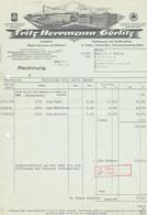 Görlitz Firmenrechnung Tuchfabrik Herrmann 1939 - Unclassified