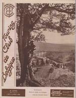 TOURING CLUB DE BELGIQUE.  N°7 Et 8 - 1 Et 15 Avril 1940.   Herbeumont- Pont Et Viaduc De Conques. - 1900 - 1949