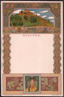 * Staufen Jugendstil Sign. E.S., Nister Nürnberg - Non Classificati