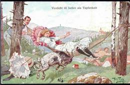 * Humor Sign. A. Thiele FED 443 - Thiele, Arthur