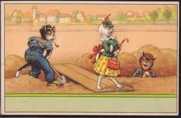 * Katzen Vermenschlicht ähnlich Thiele - Thiele, Arthur
