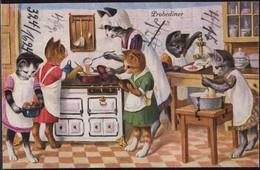 * Katzen Wohl Thiele, Frotbeschriftung - Thiele, Arthur