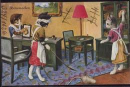 * Katzen Reinemachen Wohl Thiele, Frotbeschriftung - Thiele, Arthur
