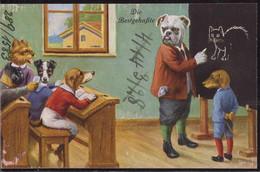 * Hundeschule Die Bestgehaßte Wohl Thiele, Frotbeschriftung - Thiele, Arthur