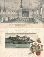 *, Gest. Konvolut Von 47 AK's Zumeist Topographie Deutschland Um 1905 Alle An Eine Adresse In Roßlau Geschrieben, Bitte  - Unclassified