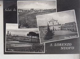 S. LORENZO NUOVO VITERBO SALUTI VEDUTE  VG  1958 - Viterbo