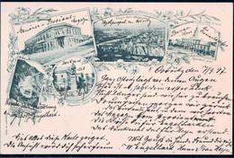 Gest. Tiflis Hotel De Londres Rathaus 1897 - Georgia