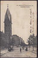 Gest. O-1000 Berlin Antwerpener Straße Kapernaum-Kirche 1927, Min. Best. - Non Classificati