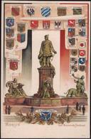 * O-1000 Berlin Bismarck-Denkmal Wappen-Prägekarte - Non Classificati