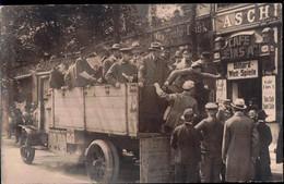 Gest. O-1000 Berlin Cafe Eins A, Tolle Foto-AK 1919 - Non Classificati