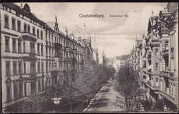 Gest. O-1000 Berlin Charlottenburg Ansbacher Straße, Feldpost 1917 - Non Classificati