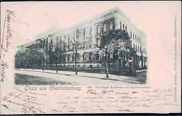Gest. O-1000 Berlin Charlottenburg Artillerie-und Ingeniezrschule 1899 - Non Classificati
