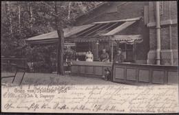 Gest. O-1000 Berlin Charlottenburg Gasthaus Spandauer Bock Stegmeyer 1904 - Non Classificati