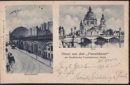 Gest. O-1000 Berlin Gasthaus Franziskaner 1901 - Non Classificati