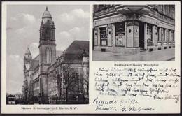 Gest. O-1000 Berlin Gasthaus Georg Westphal 1943 - Non Classificati