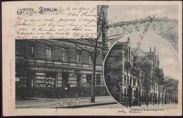 Gest. O-1000 Berlin Gasthaus Zum Gemütlichen Elsässer 1899 - Non Classificati