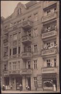Gest. O-1000 Berlin Herrengeschäft Und Bonbonniere Monika Jaeckel, Tolle Foto-AK 1908 - Non Classificati