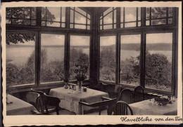 * O-1000 Berlin Kladow Gasthaus Hotel Märksicher Hof, 2-fach Klappkarte - Non Classificati