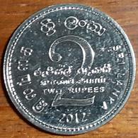 Sri Lanka 2 Rupees 2012, Scout Movement Centenary, KM#189, Unc - Sri Lanka