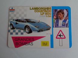 Football Futebol Grandes Bombas F. C. Porto Sousa Lamborghini Portugal Portuguese Pocket Calendar 1989 - Klein Formaat: 1981-90