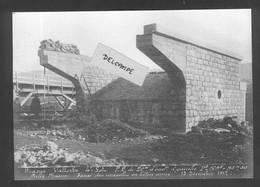 Construction Ligne Frasne-Vallorbe - Pont Labergement Ste Marie - Essai Des Consoles En Béton Armé 13 Décembre 1912 - Altri Comuni