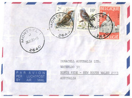 (MM 18) (Australia)  Cover Posted From Belgium To Australia (EUROPA CEPT Stamp) Posted 1991 - Storia Postale