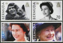 BERMUDA 2006 80th Birthday Of Queen Elizabeth II Dog Dogs Animals Fauna MNH - Dogs