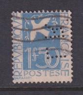 Perforé/perfin/lochung France 1934 No 294 LR L. Reinhart Société D'Impor. Et Commis. - Perforés