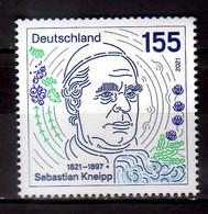 2021 Germany 200 Years Of Sebastian Kneipp Birthday Monk, Creator Of The Helath Kneipp System MNH** - Nuovi