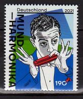 2021 Germany Music Harmonica / Mundharmonica 1v MNH** Jazz, Pop, Classic - Nuovi